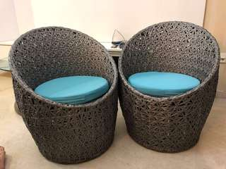 Haus outdoor couple chair