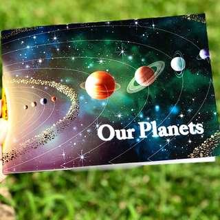 Buku Astronomi Pop Up