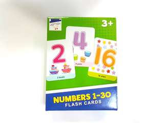 Numbers Flashcard