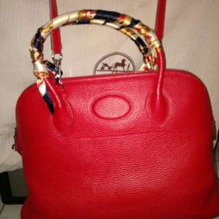 Hermes with dusty bag