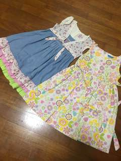 8-9 yo girls floral dress