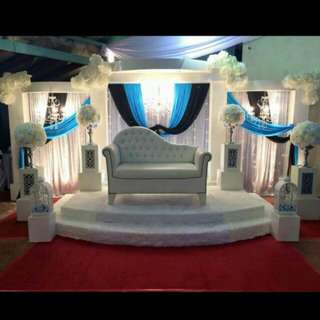 Wedding stage set for SALE