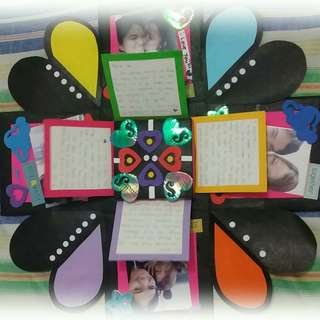 Personalized explosion box