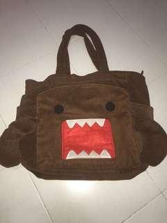 💯% Authentic Domokun Big tote Bag