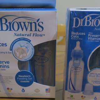 Dr Brown's 3pcs bottle