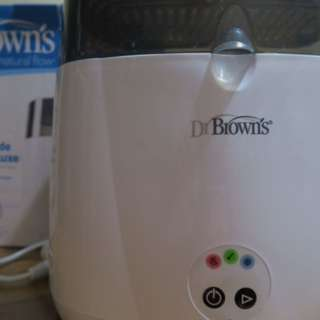 Dr brown's deluxe sterilizer with cooling effect