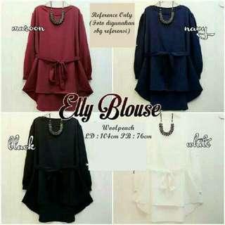 Elly blouse - black