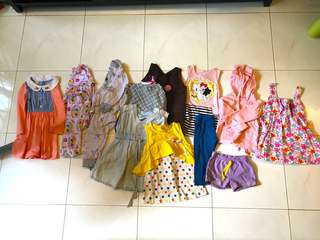 Assorted preloved cloth and dress 2-3Yos