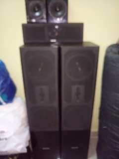 AUDIO VISION karaoke set/home teather