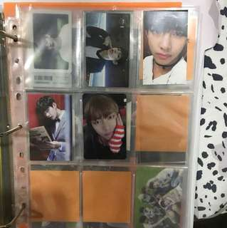 WTS BTS V Photocard Collection