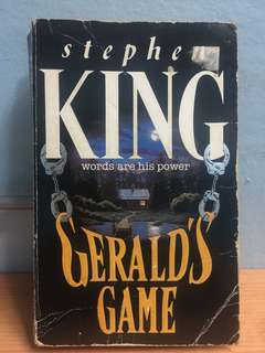 Stephen King's Gerald's Game - now in Netflix!