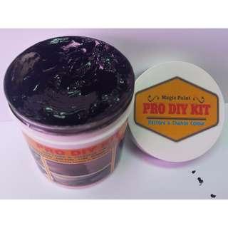 2 x PRO DIY KIT - Magic Paint Black- Plastic Trim Restore [Free Shipping+sponge]