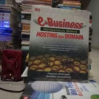 e-Business Membangun Bisnis Hosting dan Domain