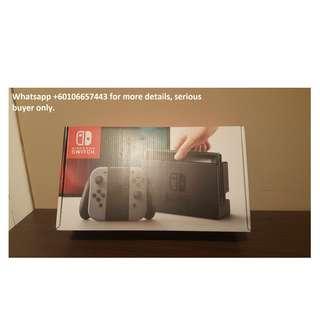 Sealed in box Nintendo Switch 32GB