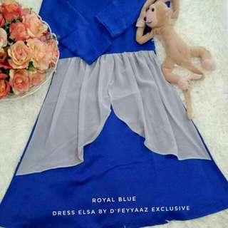 Dress Elsa Kids (PO)