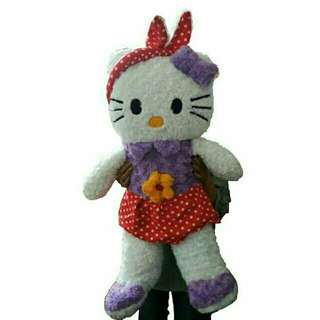 Boneka Hellokitty lucu bando size XL