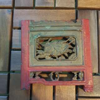 RARE Piece Of Authentic Antique History Chinese Old House Tiles