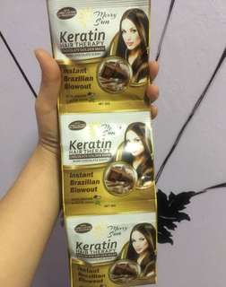 Keratin Hair Therapy ; Instant Brazilian Blowout