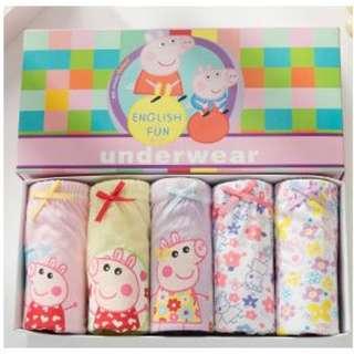 Girl Panties - Peppa Pig (Korea Brand)