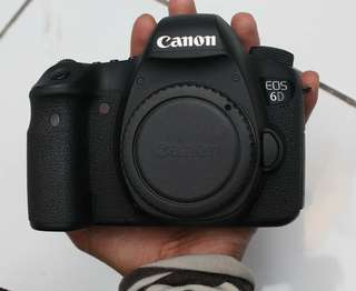 Canon eos 6d wifi body only mulus
