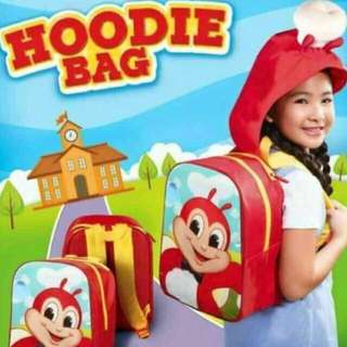 Jollibee Limited Edition Hoodie Bag
