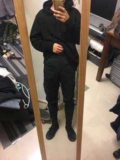 Adidas 愛迪達 三條線 運動褲 上寬下窄
