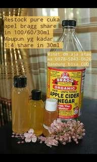 Toner cuka apel bragg pure 100ml
