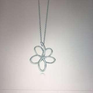 Tiffany villa Paloma flower pendant