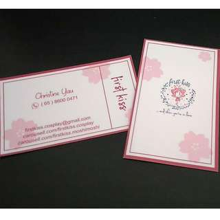 Cheap name cards design and printing