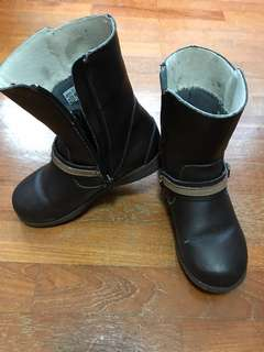 Pediped Leather Boots Girls Size 29
