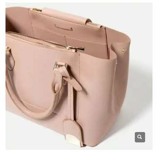 Zara Zip City Tote Bag