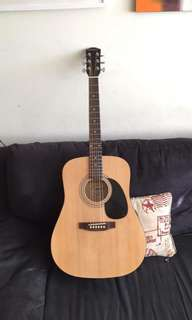 Brand new Fender Starcaster Acoustic Guitar with case!