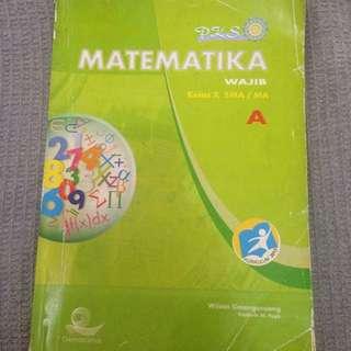PKS Matematika wajib SMA kelas X Semester 1