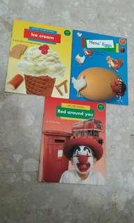 Ice cream, Hens' eggs, Red around you