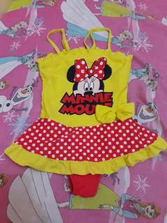 Minnie Mouse One Piece Swimsuit