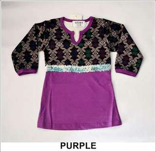Baby songket sarawak dress kurung