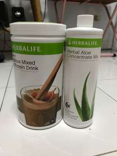 Herbalife formula 1 Shake ,Aloe concrete mix