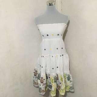 Nikibiki White Summer Dress