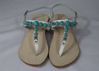 Women sandals with jewels, stones and Swarovski, 100% Made in Italy.