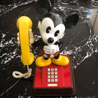 Vintage original Disney's Mickey Mouse Phone from 1976
