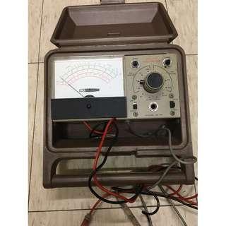 珍藏 古董電壓表 HeathKit IM-17 Voltmeter 1967年瑞典出廠