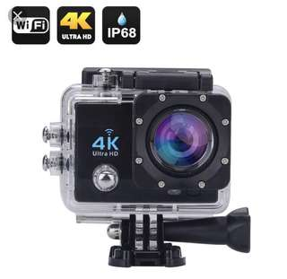 4k waterproof action camera with remote