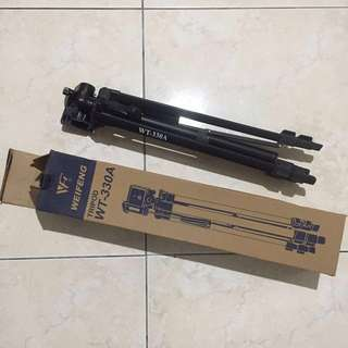 二手-偉峰WT330A三節腳架黑色 相機腳架 單眼腳架