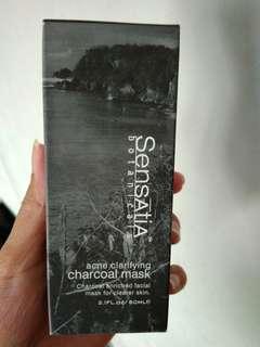 Sensatia Botanicals Charcoal Mask