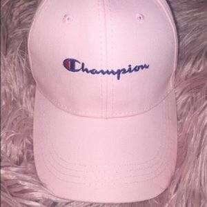 Pink Champion Hat
