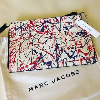 Marc Jacobs Splatter Paint Large Pouch