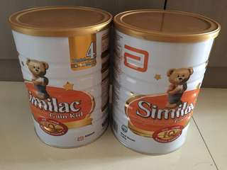 Brand New 2 tins of Similac Stage 4 Kid - expiry :march2019