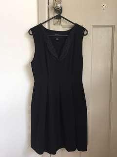 Moochi black dress
