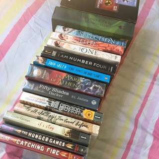 DISCOUNTED PRELOVED FICTION BOOKS