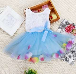 *READY STOCK* Lace Flower Blossom Dress